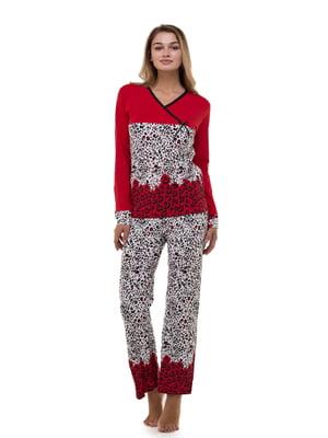 Піжама: пуловер і штани | 4902110