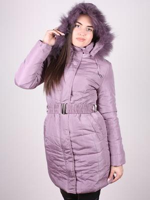 Пальто сиреневое | 4902382