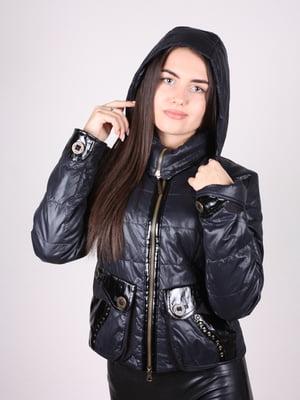 Куртка сине-черная | 4902390