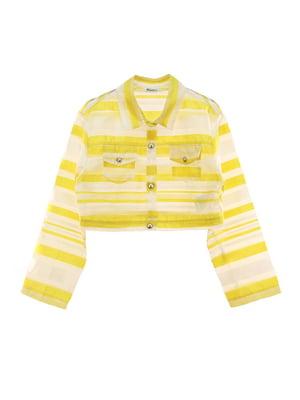 Жакет желтый | 4781486