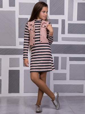Комплект: сукня та жилет   4865800