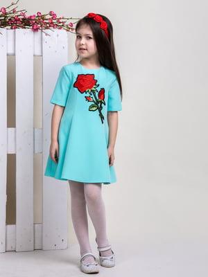 Сукня кольору м'яти   4865825