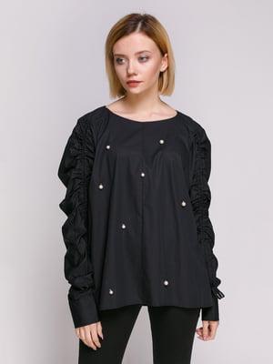 Блуза черная | 4874734