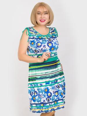 Платье в принт | 4902449