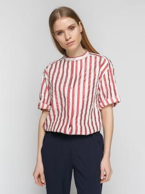 Блуза в полоску   4877773