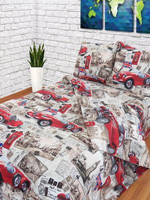 Комплект постельного белья двуспальный | 4296935