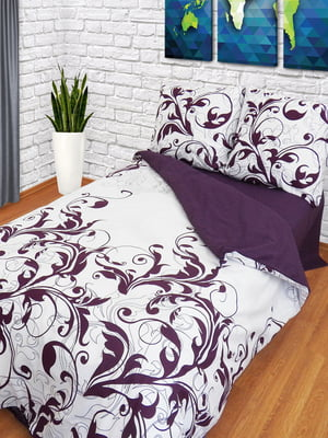 Комплект постельного белья двуспальный (евро) | 4296948