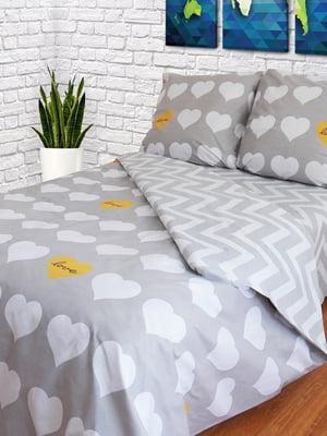 Комплект постельного белья двуспальный (евро) | 4583786
