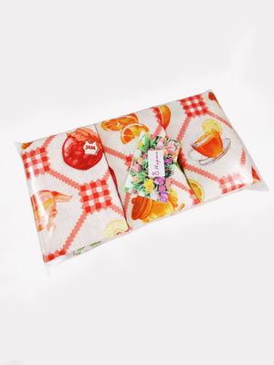 Набор кухонных вафельных полотенец (3 шт.). | 4904168
