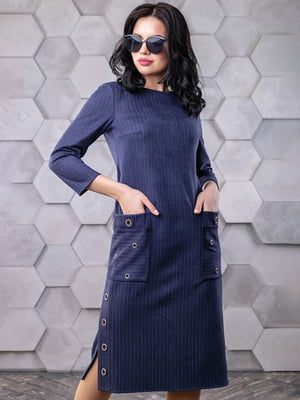 Платье синее   4904651
