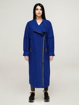 Пальто цвета электрик | 4904616