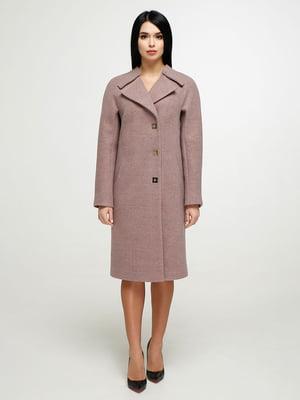 Пальто розовое | 4904621