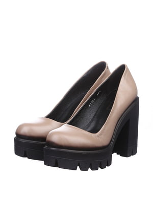 Туфлі бежеві | 4904725