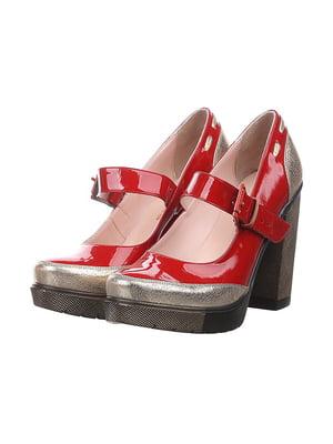 Туфли красные | 4904778