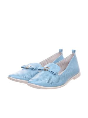Балетки голубые | 4904789