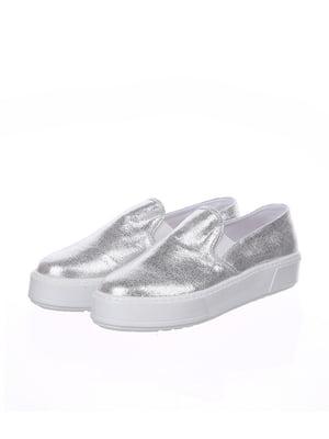 Сліпони сріблясті - Espadrille - 4904852