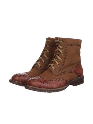 Черевики коричневі | 4905188