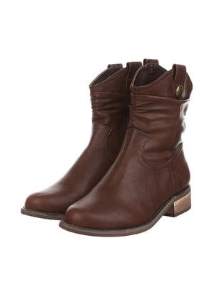 Черевики коричневі | 4905221