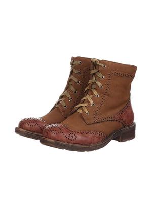 Черевики коричневі | 4905293