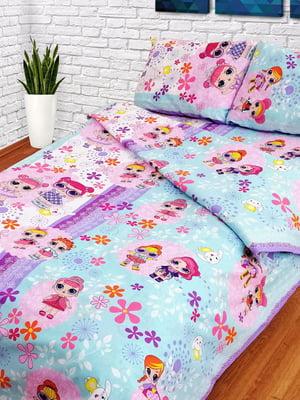 Комплект постельного белья полуторный | 4834551