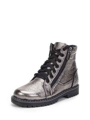 Ботинки серебристые | 4906135