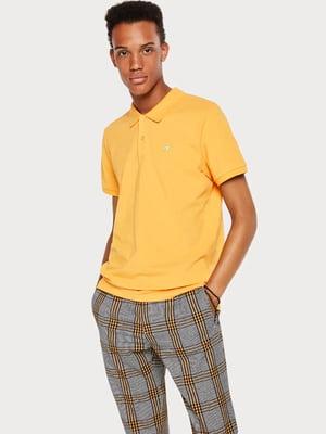 Футболка-поло жовта | 4891903