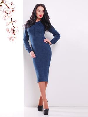 Сукня синя | 4906617