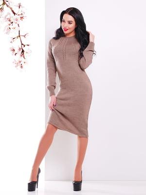 Сукня кавового кольору | 4906619