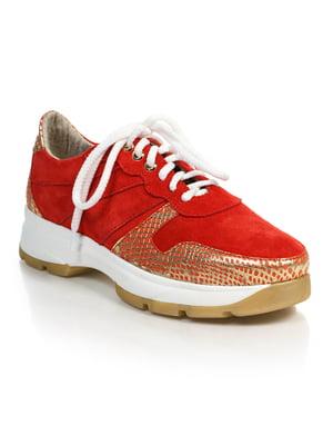 Кроссовки красные | 4904165
