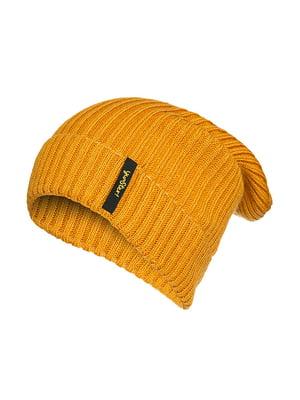 Шапка темно-жовта | 4613466