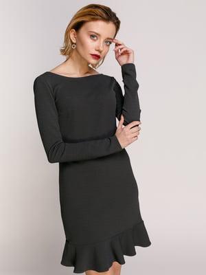 Сукня темно-сіра | 4902460