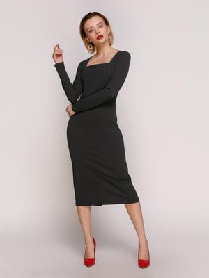 Сукня темно-сіра | 4902470