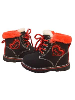 Ботинки черные   3998224