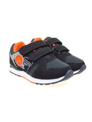 Кроссовки черно-серые | 4041802