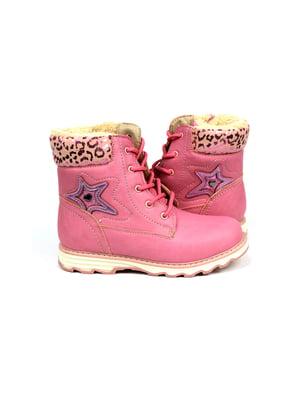 Ботинки розовые | 4908516