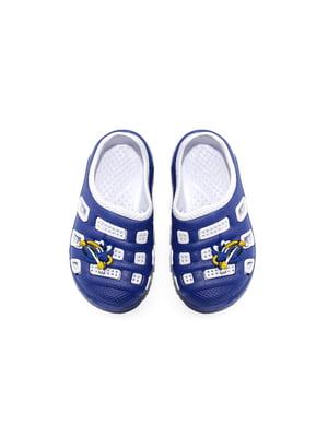 Сабо сине-белые   4908799