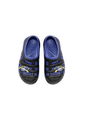 Сабо черно-синие   4908801