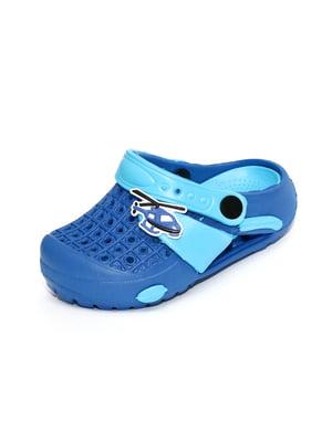 Сабо синьо-блакитні   4908807
