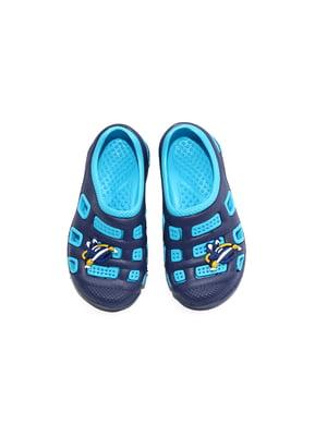 Сабо сине-голубые   4908811