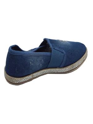 Слипоны синие | 4908868