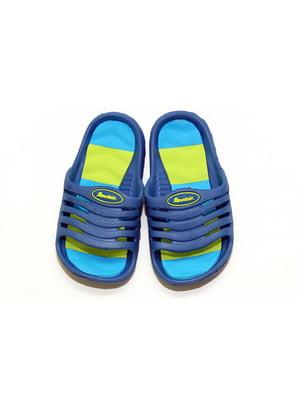 Шлепанцы синие   4908882