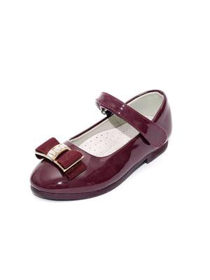 Туфлі бордові   4909038
