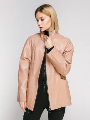 Куртка цвета пудры | 4906714