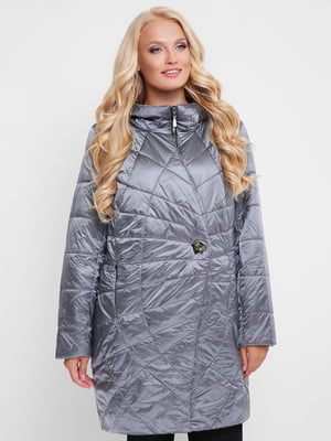 Куртка серо-синяя | 4908245