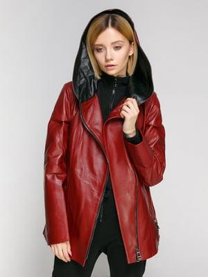 Куртка бордовая | 4906718