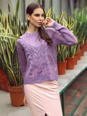 Джемпер фіолетовий | 4839677