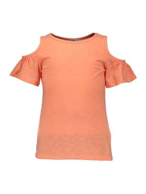 Футболка оранжевая | 4890100