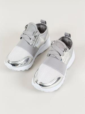Кросівки сріблясті | 4890135