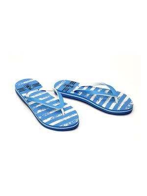 В'єтнамки блакитні в смужку   4908519