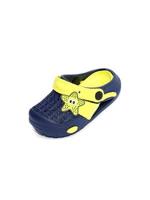 Сабо синьо-жовті | 4908805